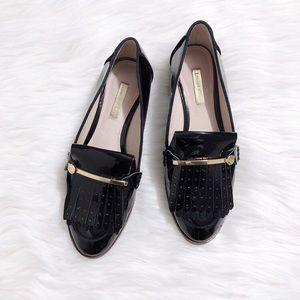 32e8466b5f2 louise et cie dahlian kiltie patent leather loafer